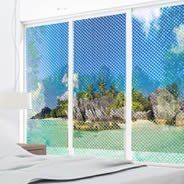 Paradise Island see through  window decals