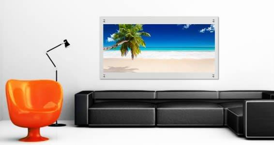 Paradise Ocean Beach Plexiglass Stand Off