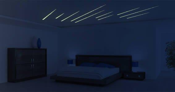 Glow in the Dark Shooting Stars