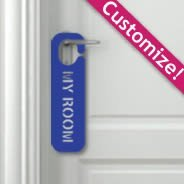 Custom Lettering Door Sign appliques