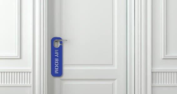 Custom Lettering Door Sign appliques