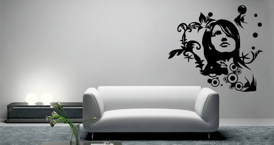 Paula removable wall decals
