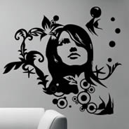 Paula removable wall tattoos