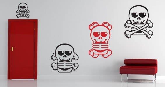 Skully Family wall stickers