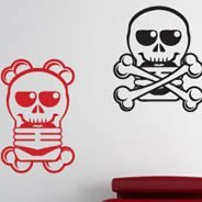 Skully Family wall stickers