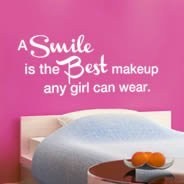 Best Smile quote decals
