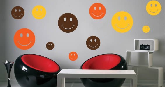 Smile! you're home... -vinyl decals