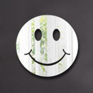 Smiley Emoticon wall mirror