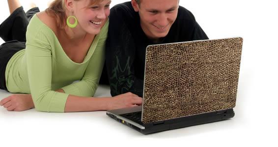 Snake laptop skin