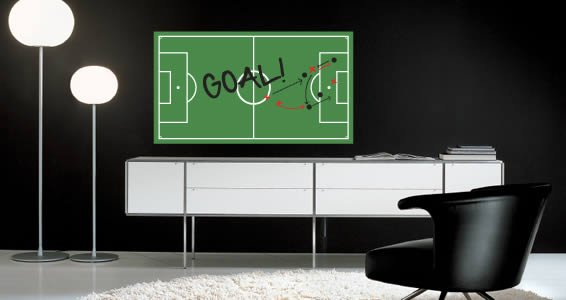 Soccer Field Dry Erase decals