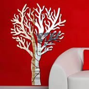 Solid Tree wall mirrors