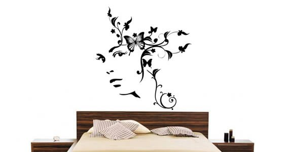 Floral Dream wall decals