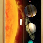 Planets wall decals Dry Erase Furniture Skins
