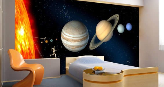 Planets Wall Murals Part 46