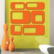Square Dot Pack wall appliques