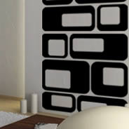 Squares modern wall decals