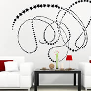 Filante Star wall stickers