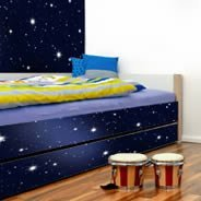Stars Galaxy Dry Erase Decal Furniture Skins