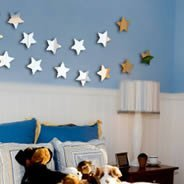 Mini Stars acrylic mirrors
