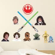PixelArt Star Wars Rebel decals by K-SEE