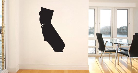 US States wall decals