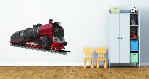 Superbe Steam Train Wall Decals