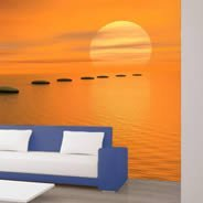 Steps to the Sun wall murals