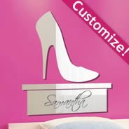 Custom High Heel Stilettos Shoe Mirror