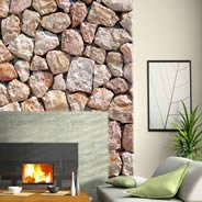 White Stones wall paper