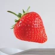 Strawberry wall decals