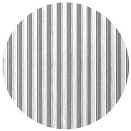 Striped Circles metal wall clings