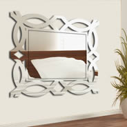Stylish Rectangle wall mirror