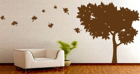 Summer Tree wall decals