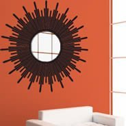 SunBurst acrylic miror and vinyl