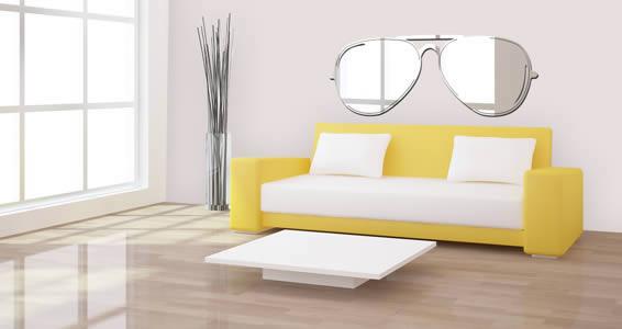 Sunglass acrylic wall mirror