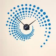 Swirl Around the Clock stick up (with mechanism)