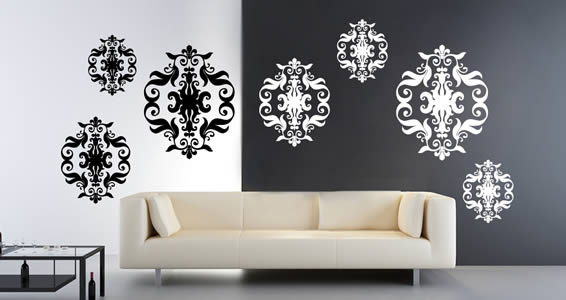 Baroque Tapestry vinyl cut outs