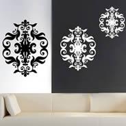 Exceptional Baroque Tapestry Vinyl Wall Decals