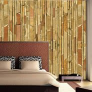 Thin stone wall paper