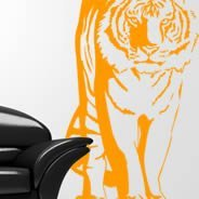 Tigers wall decals