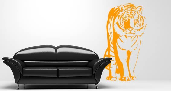 Tiger removable wall stickers