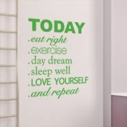 Today quote decals