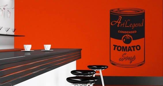 Original Tomato vinyl wall appliques