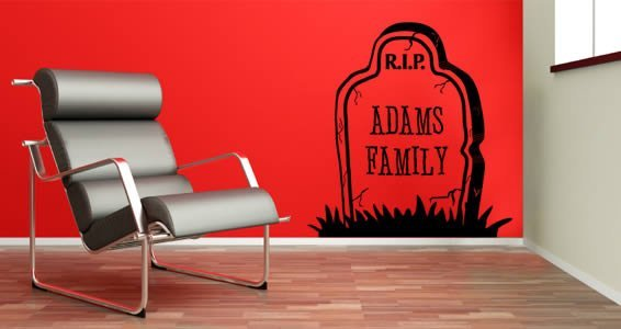 Dig Your Own Grave! custom wall stickers