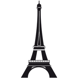 Eiffel Tower Paris Wall Decals Dezign With A Z - Wall decals eiffel tower