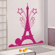 Pepsi Paris by RQR Eiffel Tower wall decal