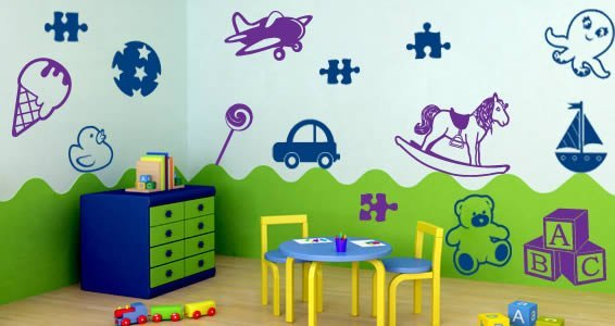 Wooden Toys decals