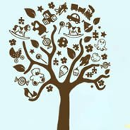Toy Magic Trees wall sticker