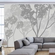 Trees wall murals