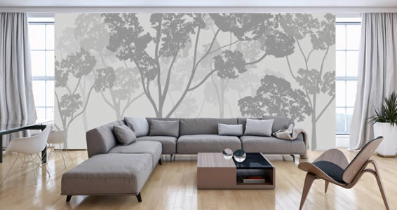 Trees wall murals Dezign With a Z